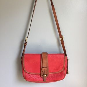VTG Dooney & Bourke Small Equestrian Shoulder Bag